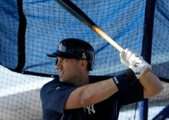 Hafner before joining the Yankee's DL